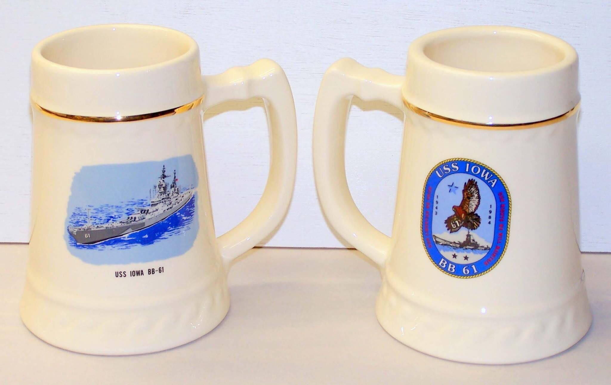 Stein - Ships Crest / IOWA Underway 20 oz