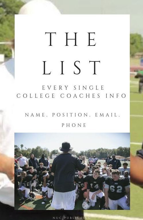 The List- Every College Coaches Info