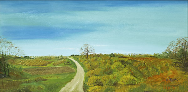 Late Fall at Mack's Oil Painting