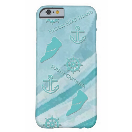 Hilton Head Island Aqua iPhone Case