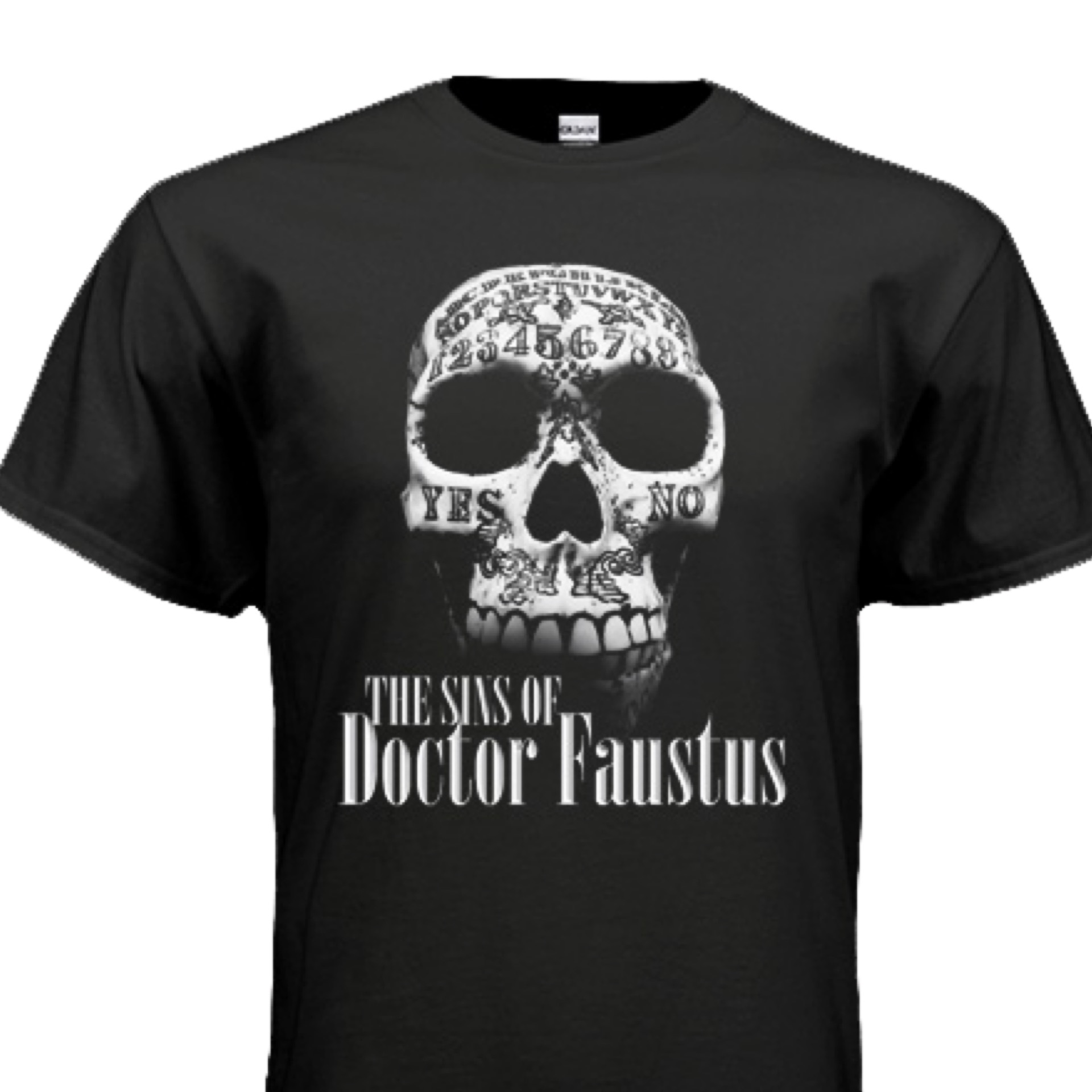 Sins of Dr. Faustus T-shirt - Mens/Unisex