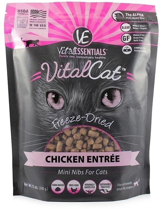 Vital Essentials - Cat - Chicken Mini-nibs - 12oz