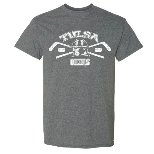 AA - Tulsa Oilers Tee - Sting Graphite Heather