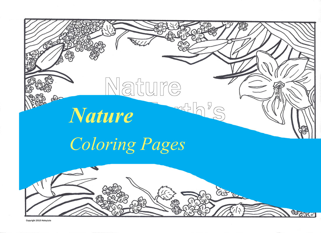 pictura coloring nature pages - photo#32