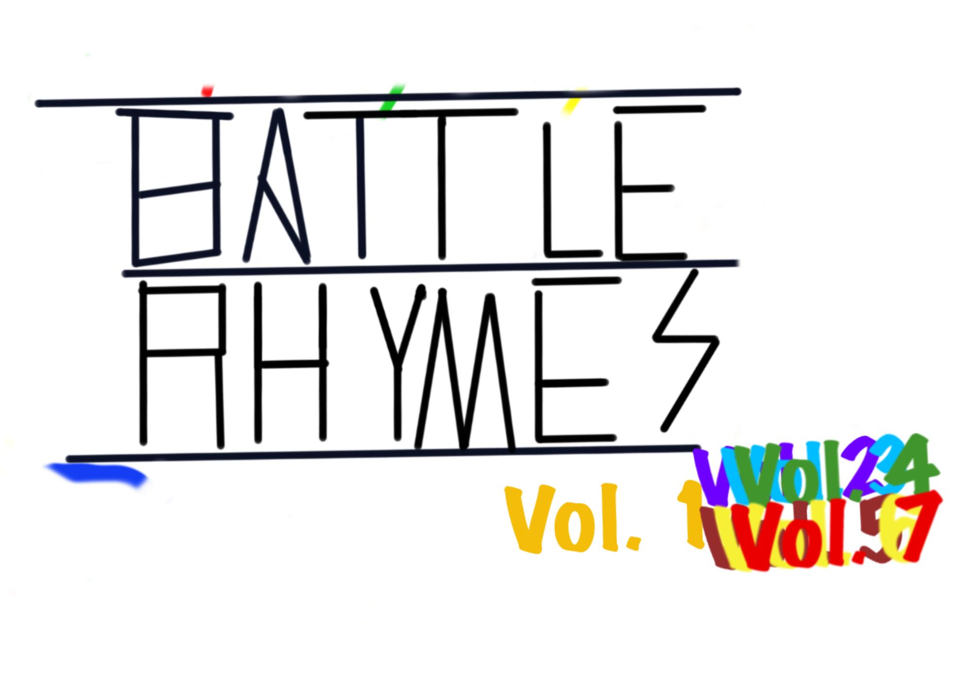 BattleRhymes Vols. 1 - 7 The complete set - Ultimate.