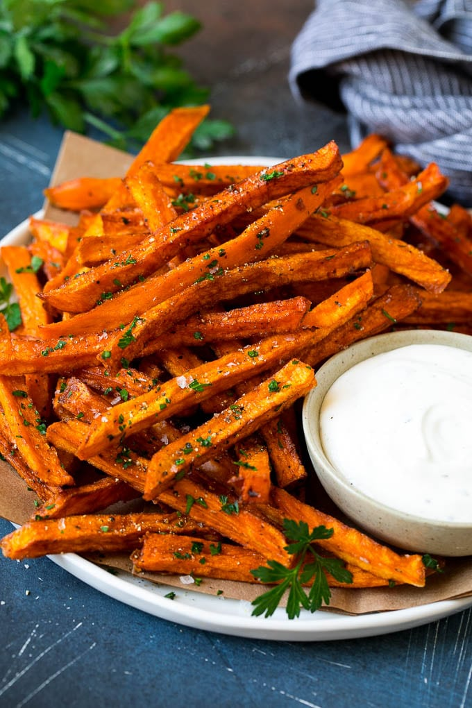 French Fries Sweet Potato