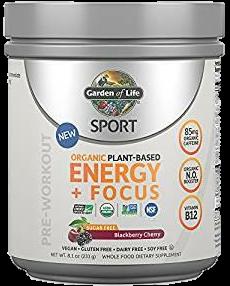 SPORT Organic Plant-Based Energy + Focus Blackberry