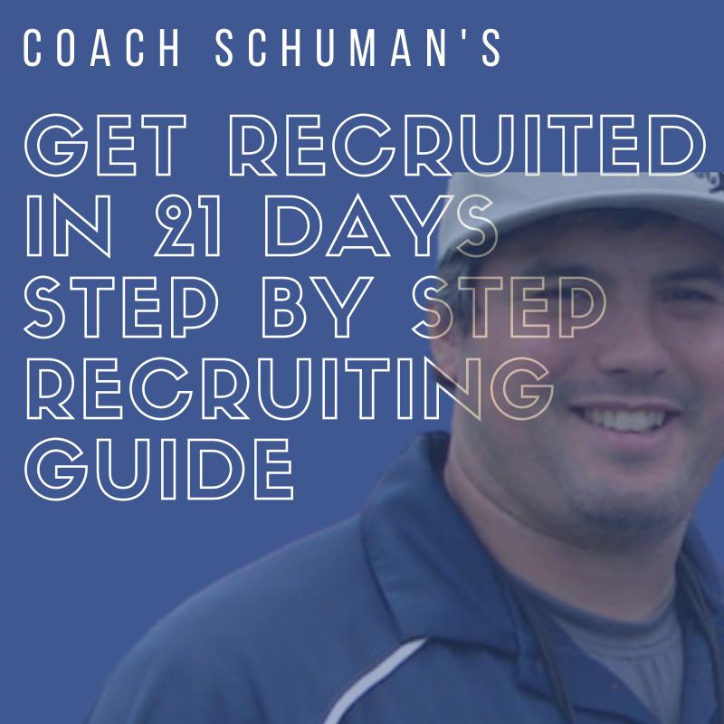 Get Recruited in 21 Days by David Schuman