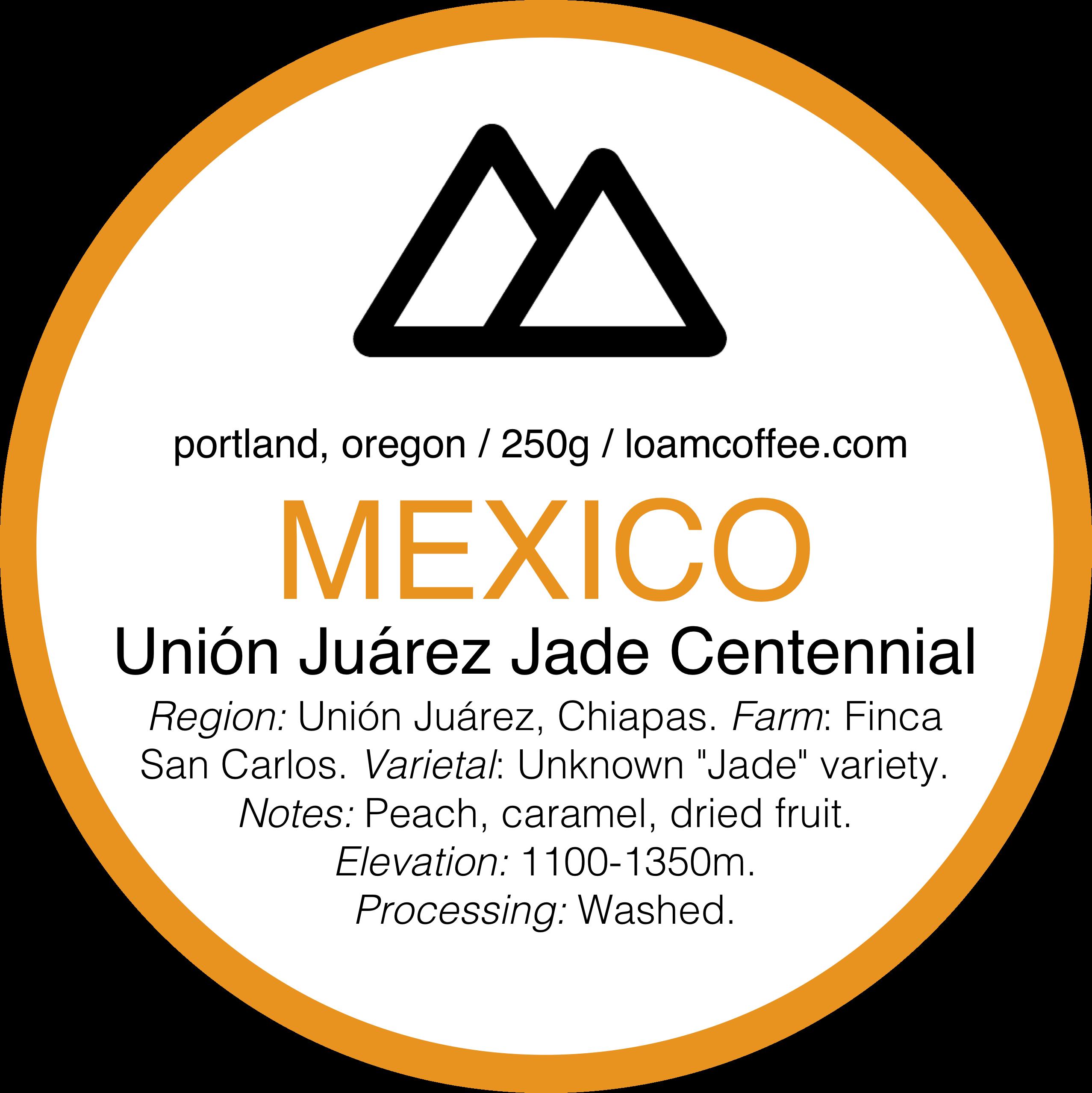 Mexico Unión Juárez Jade Centennial