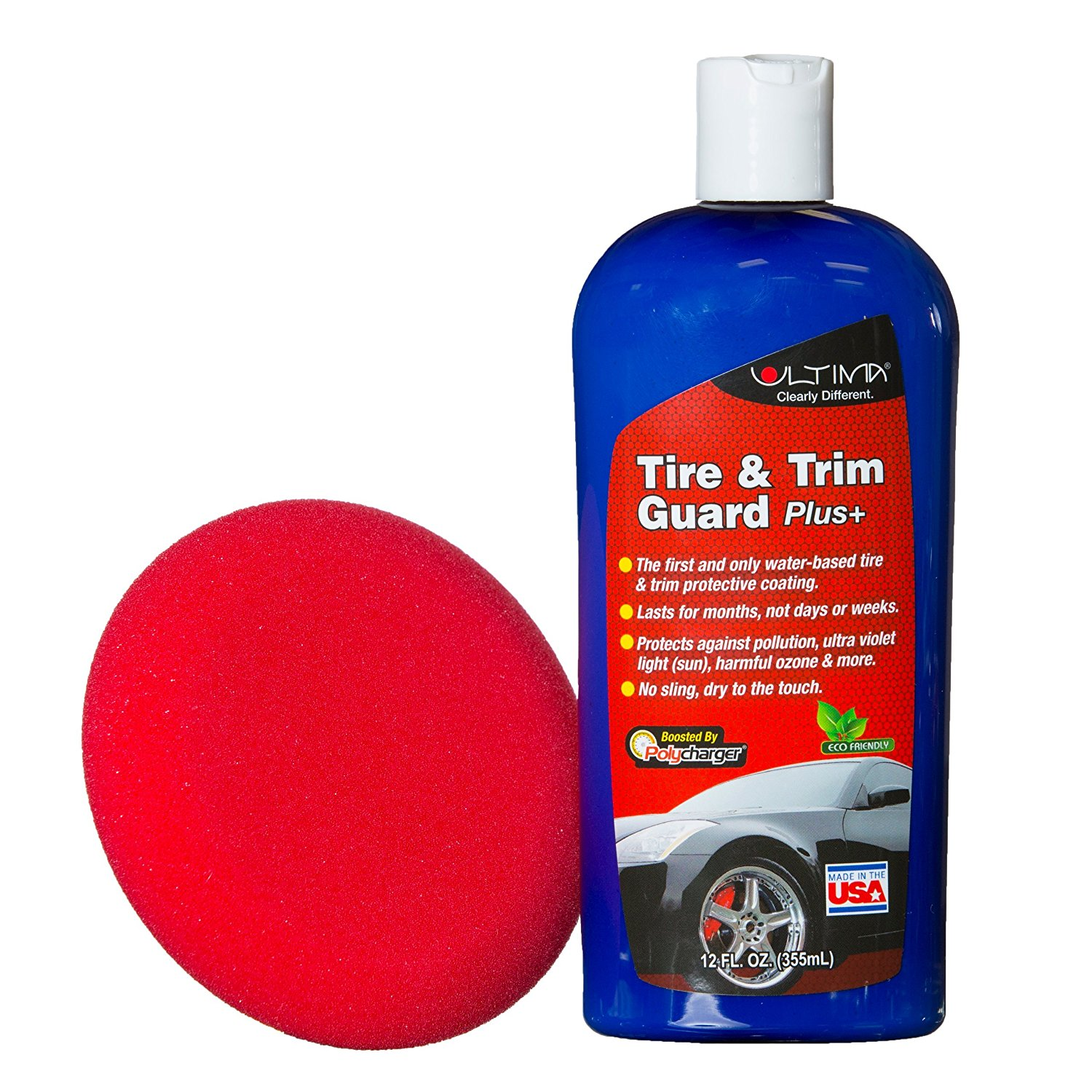 Ultima Tire and Trim Guard Plus Long Lasting Protectant and