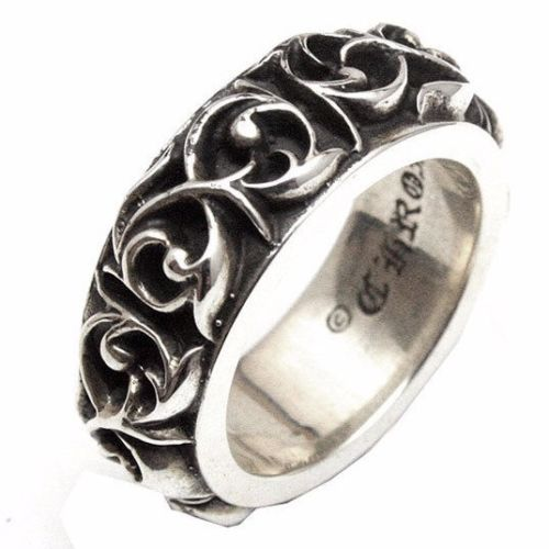 941886d0222 Authentic  Chrome Hearts  Ring Eternity Vine Band