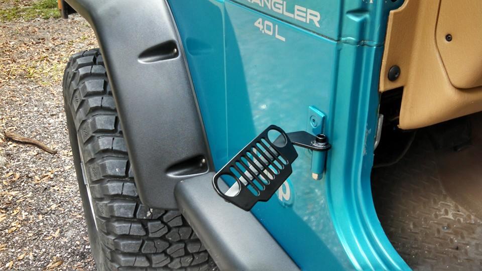 & Jeep TJ Foot Pegs