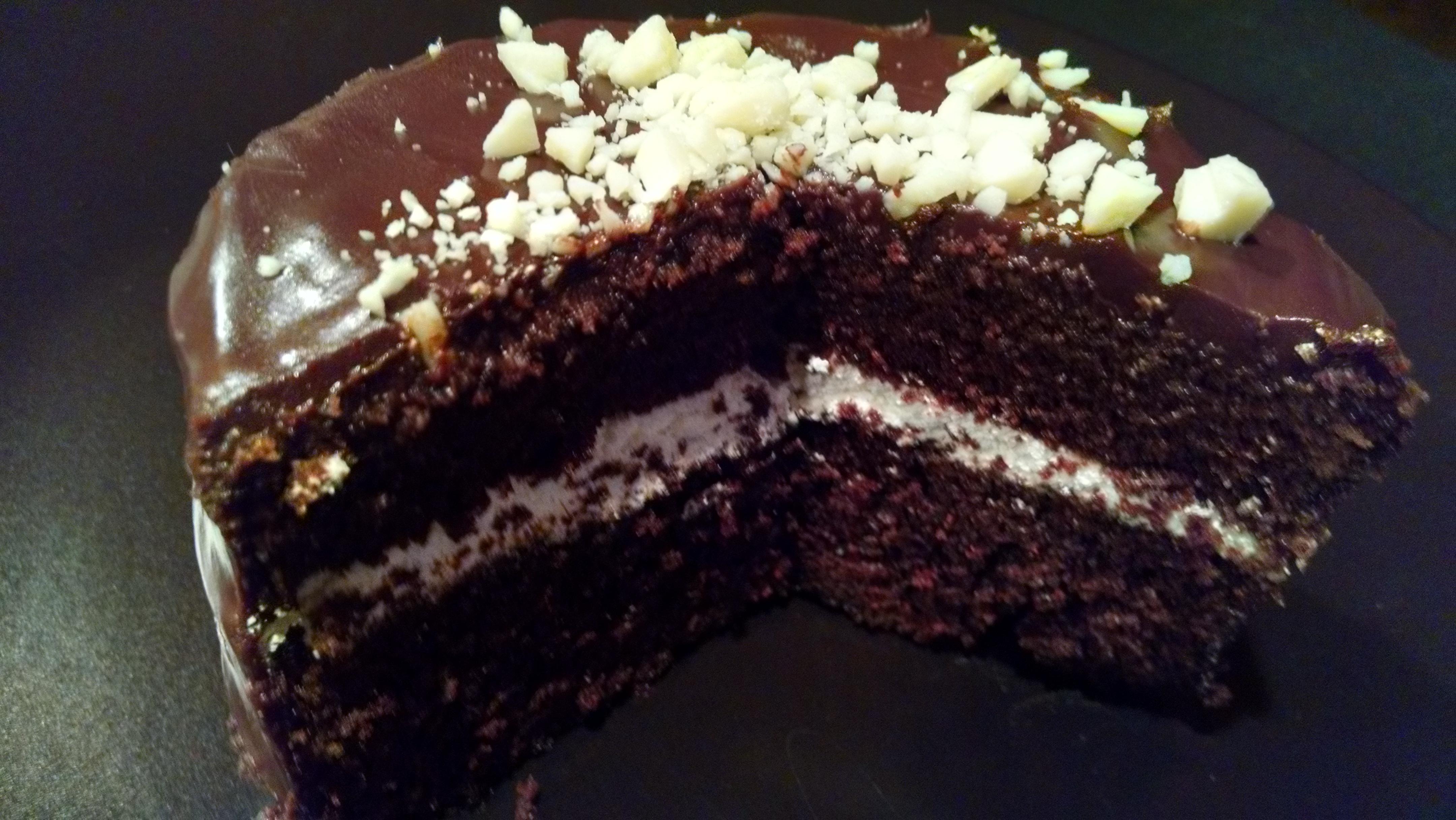 Cream Square Cake