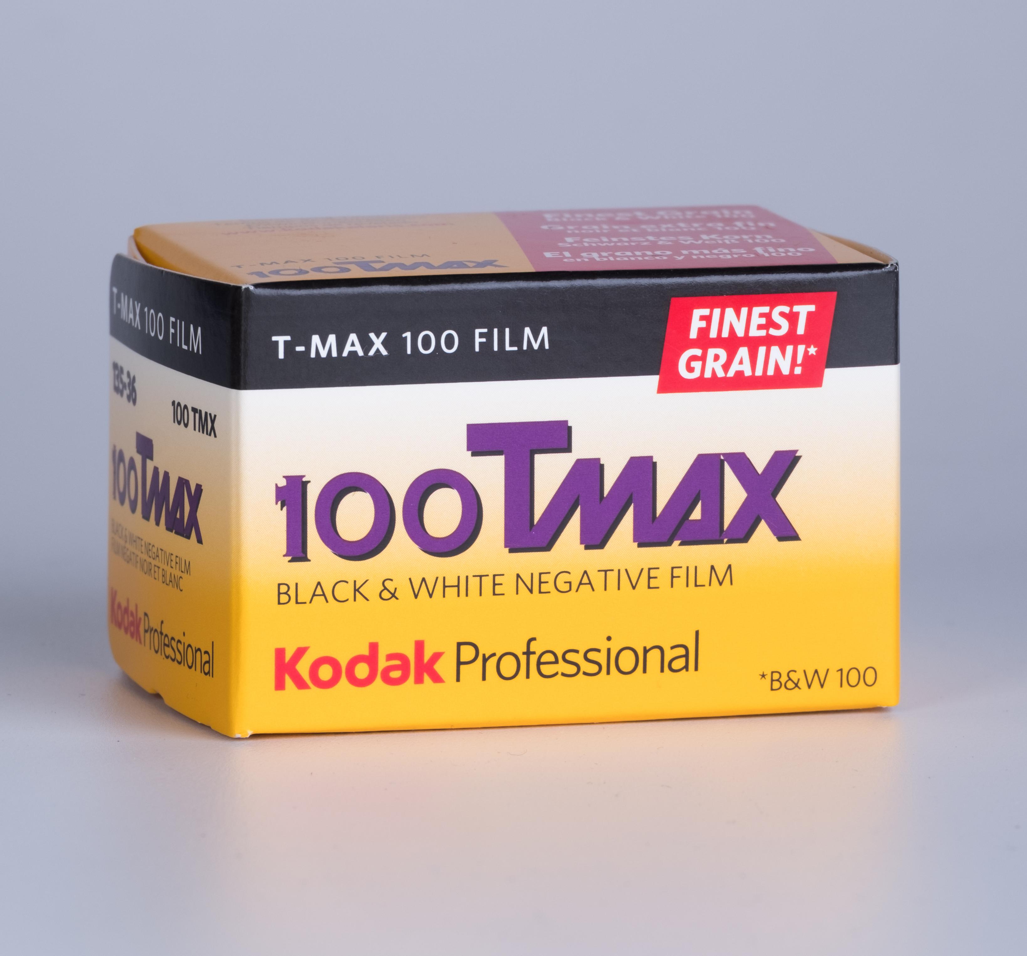 Kodak T-MAX 100/35/36exp