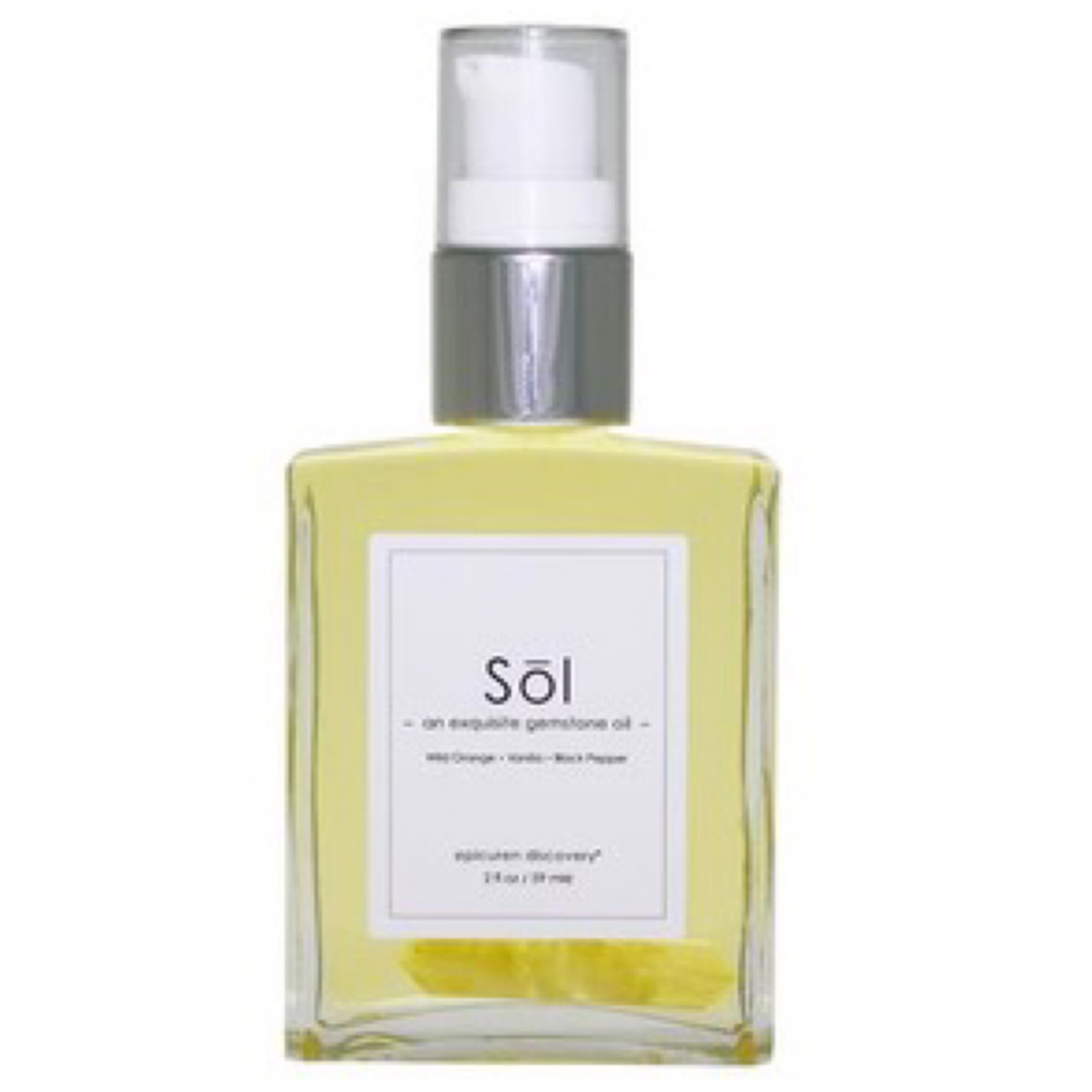 SOL Exquisite Gem-Stone Body Oil