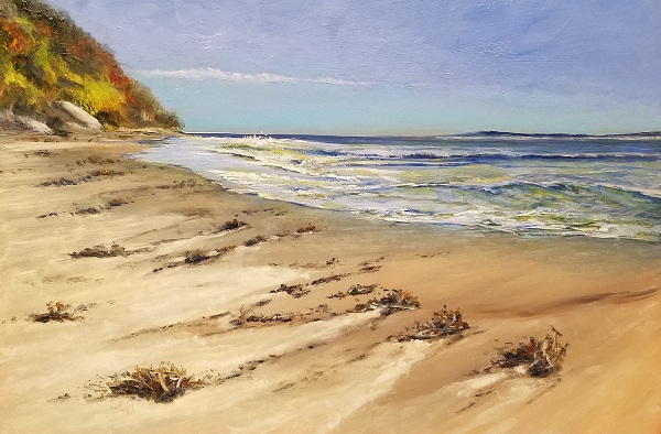 Ebb Tide Oil Painting