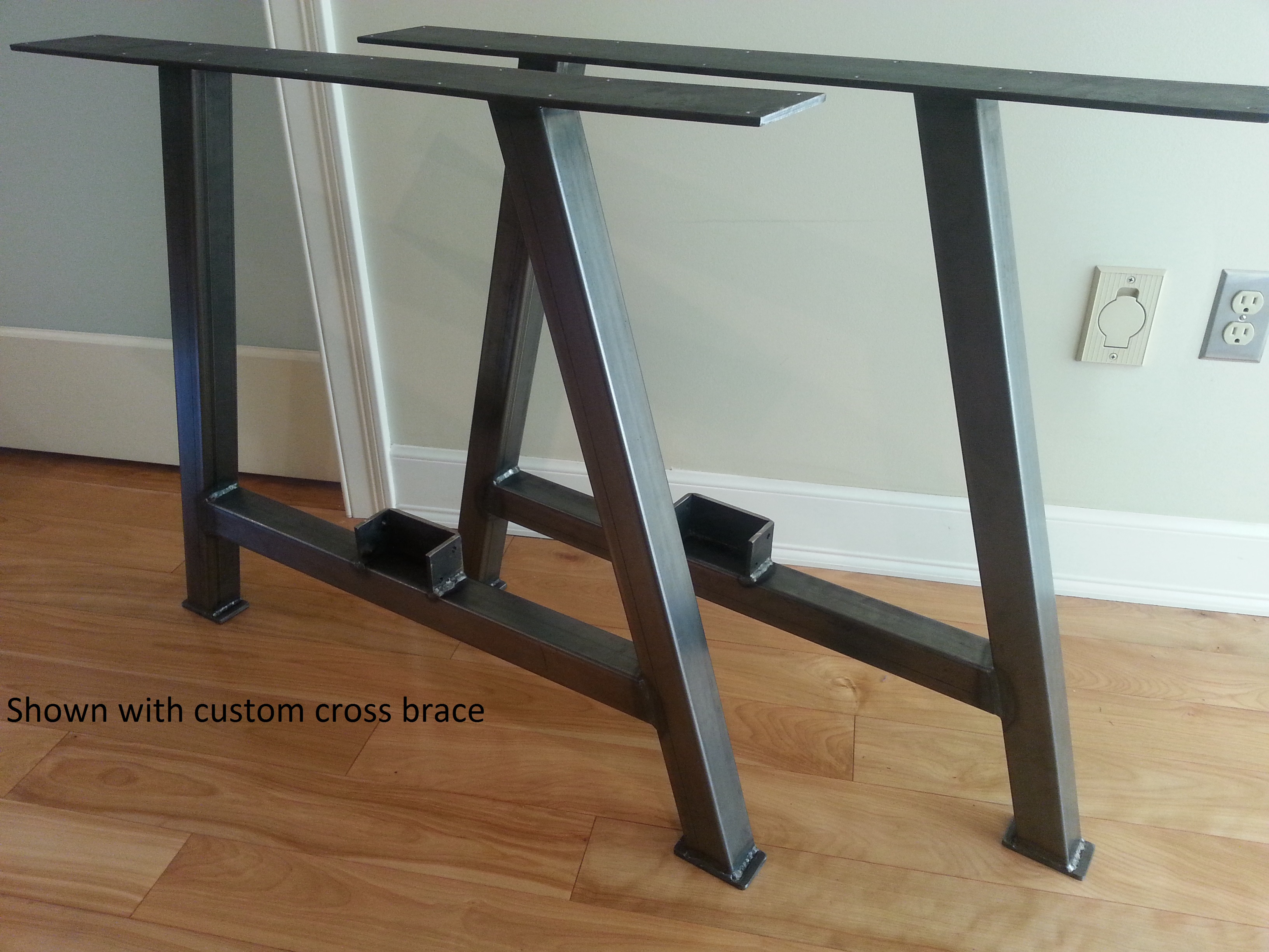 A Frame 2x2 Square Table Leg Set