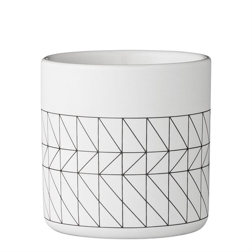 Black & White Carina Cup