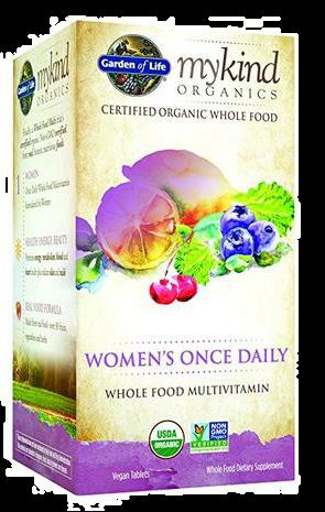 mykind Organics Women's Once Daily Multi 60 Vegan Tablets