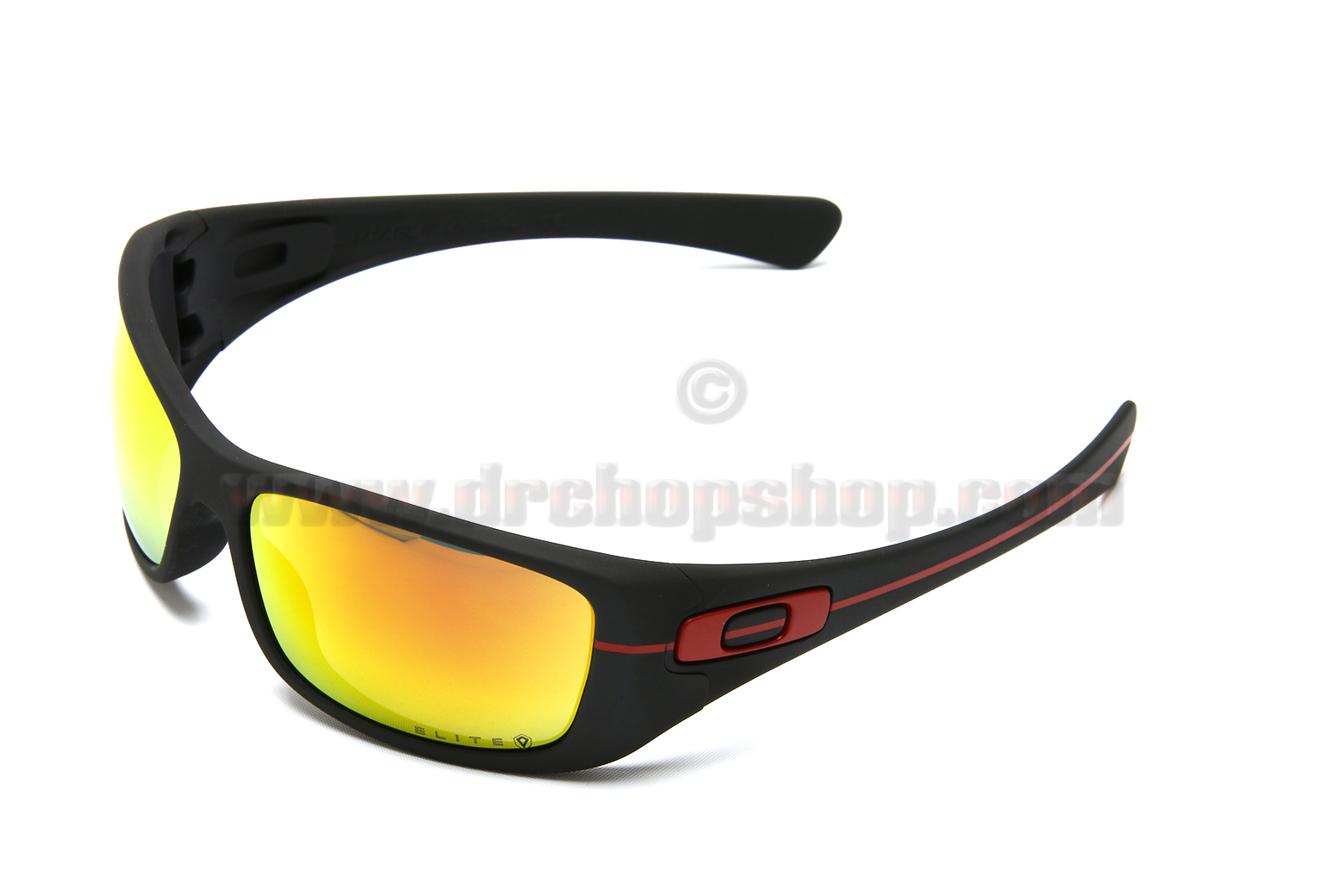 d8a0ad4b8b Thin Red Line Oakley Hijinx Revant Optics Elite Fire Red Polarized Lenses