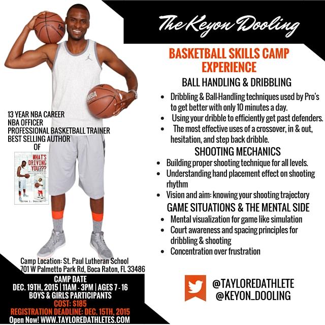 Keyon Dooling NBA Basketball Camp Experience