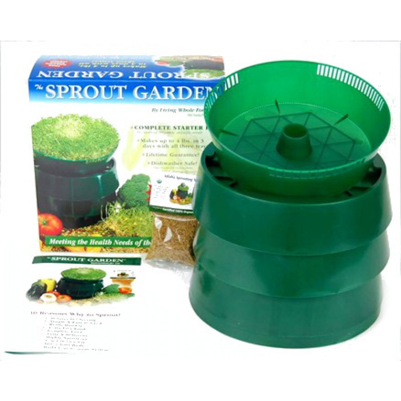 Sprout Garden 3 Tray Stackable