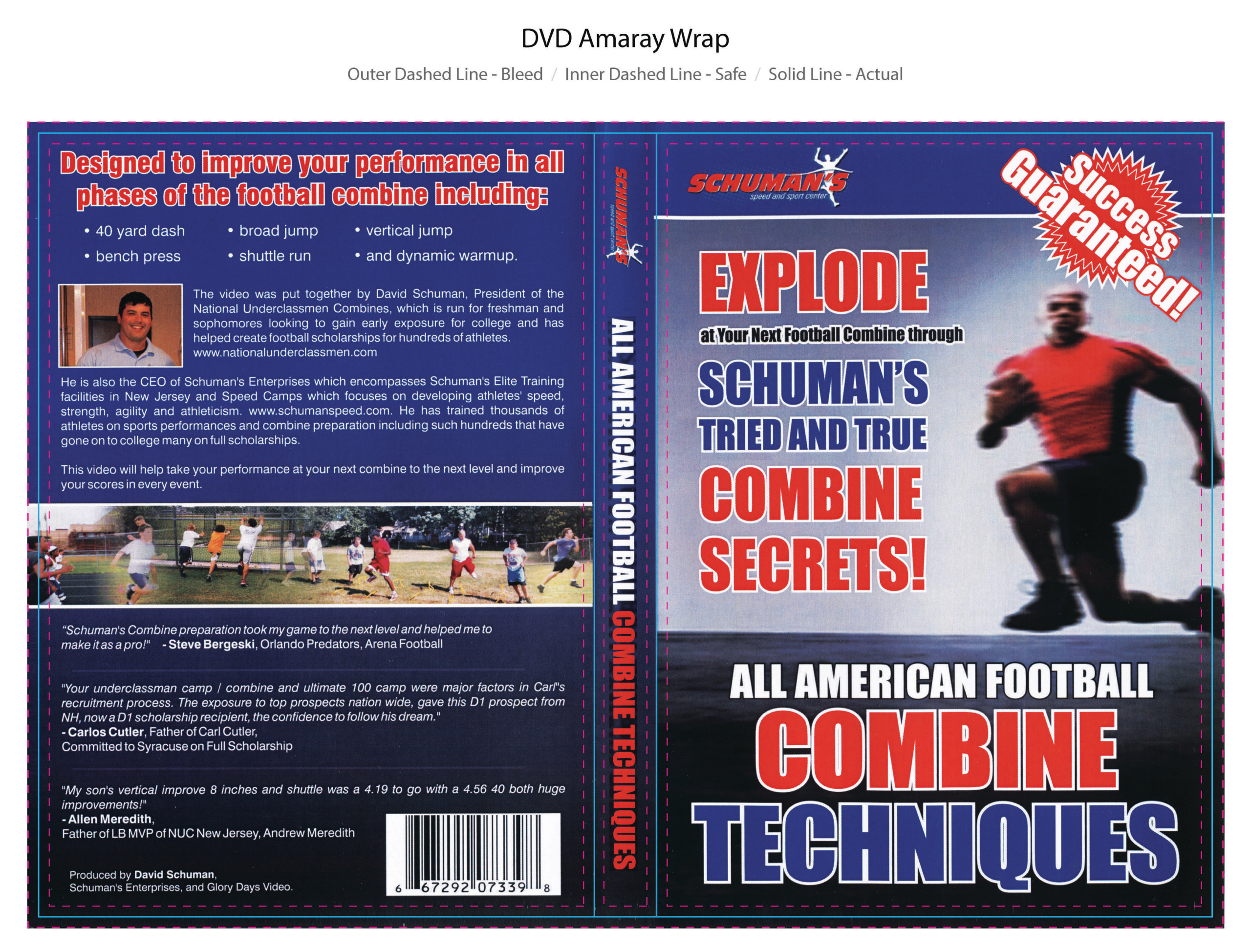 All American Combine Techniques Online Training