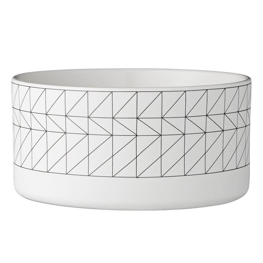 Black & White Carina Bowl