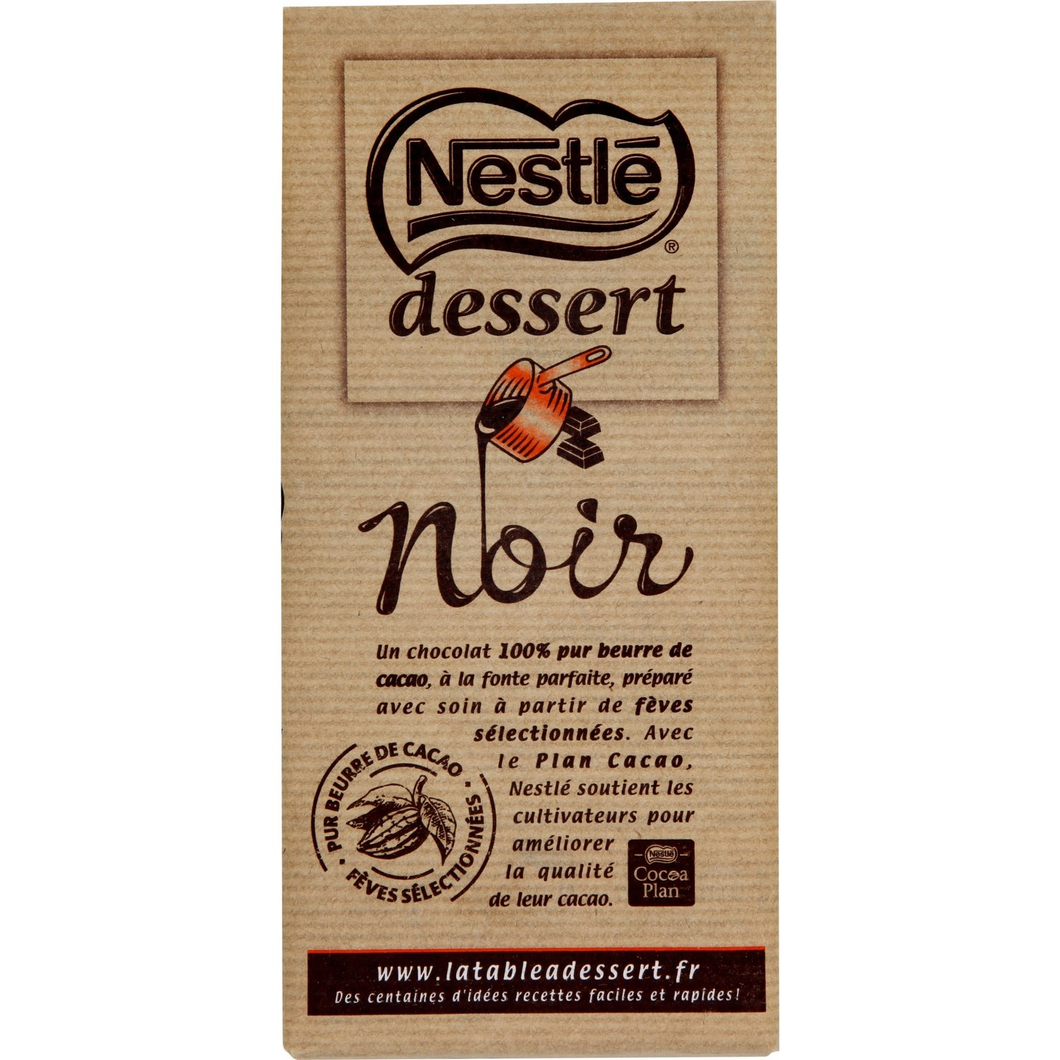 dark chocolate baking bar by nestle dessert