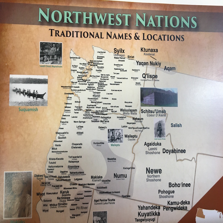 Northwest Nations Small Map