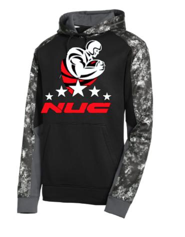 NUC Sports Camo Hoodie