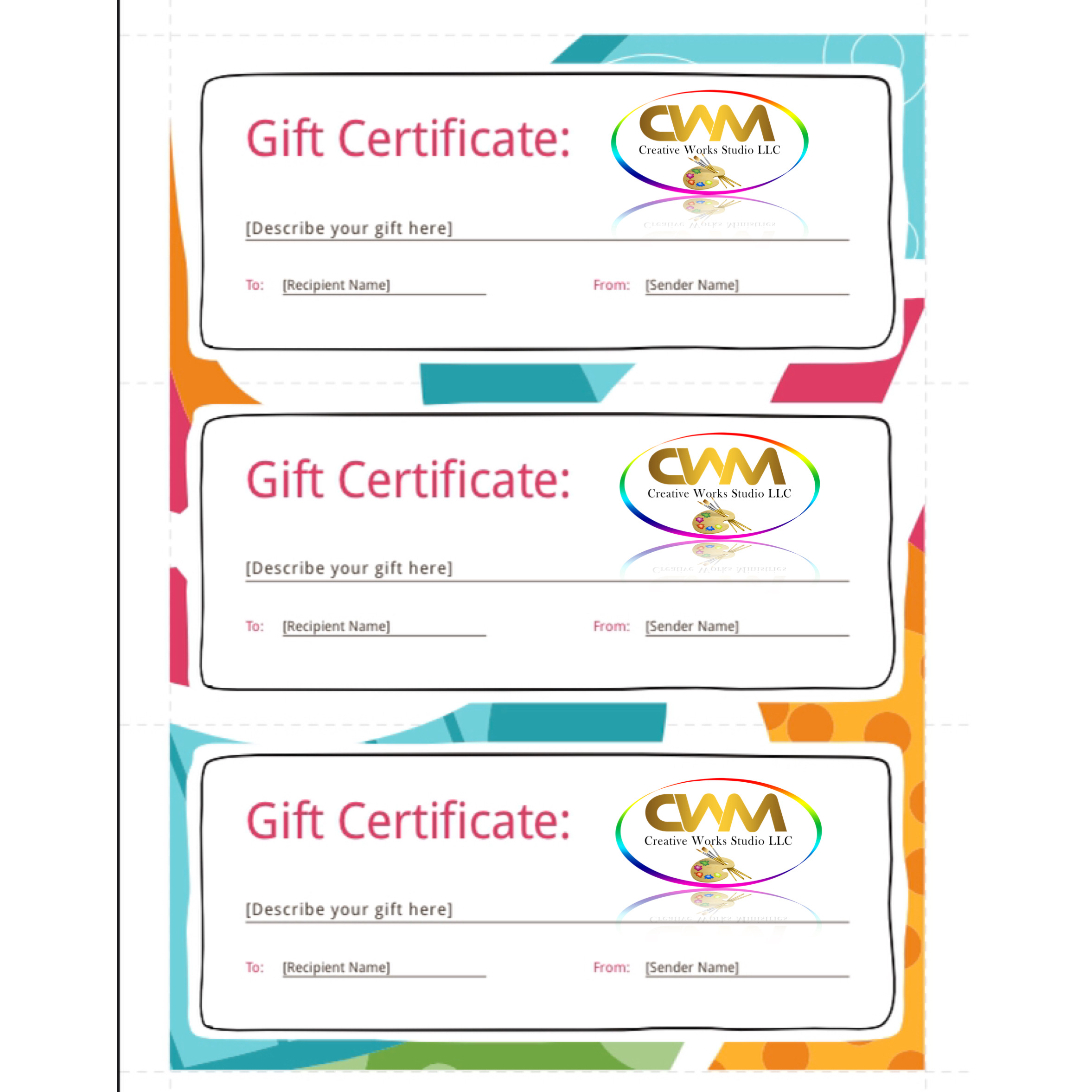 Gift Certificate 1hr session (Limited Time Special)