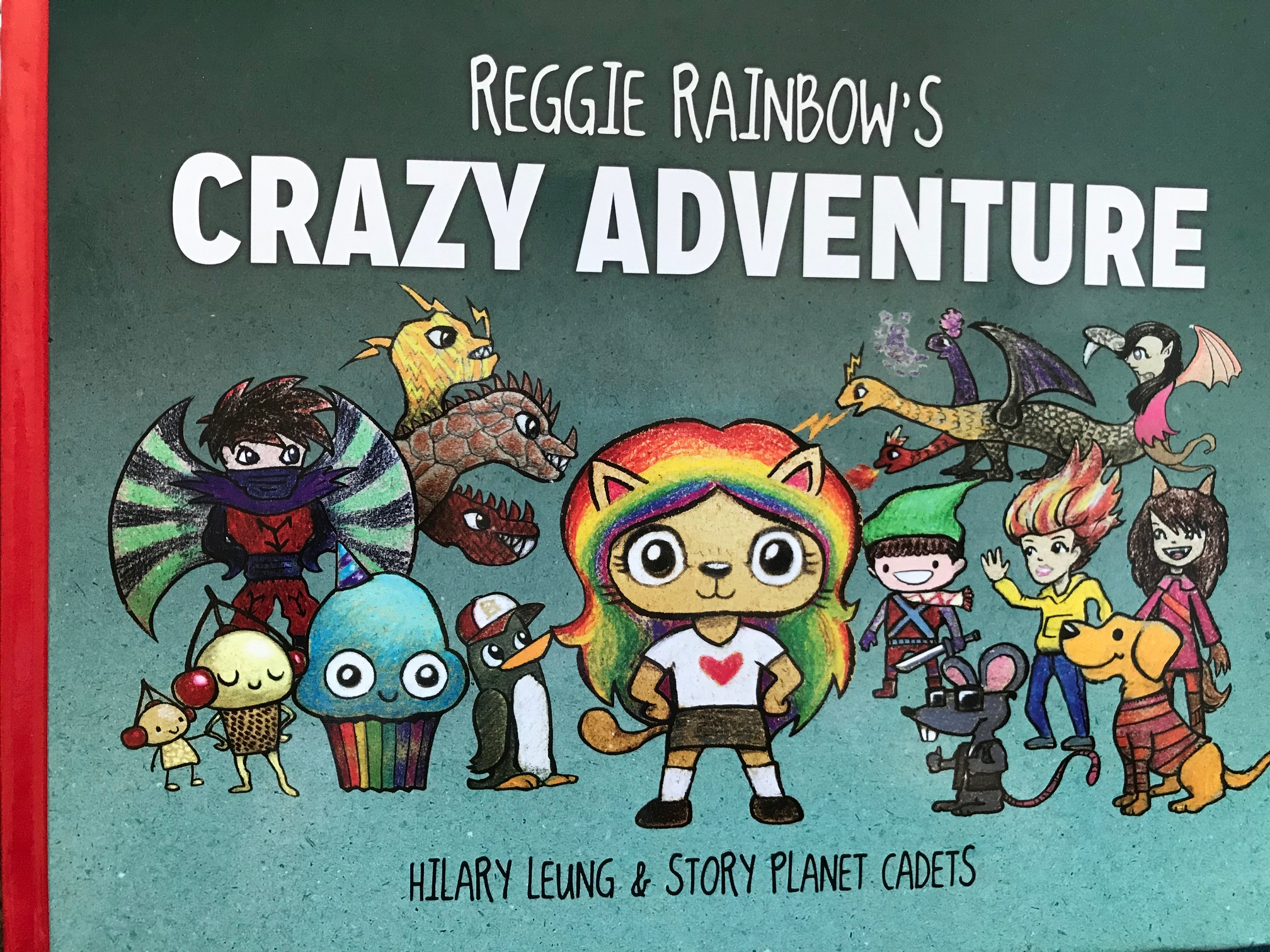 Reggie Rainbow Book