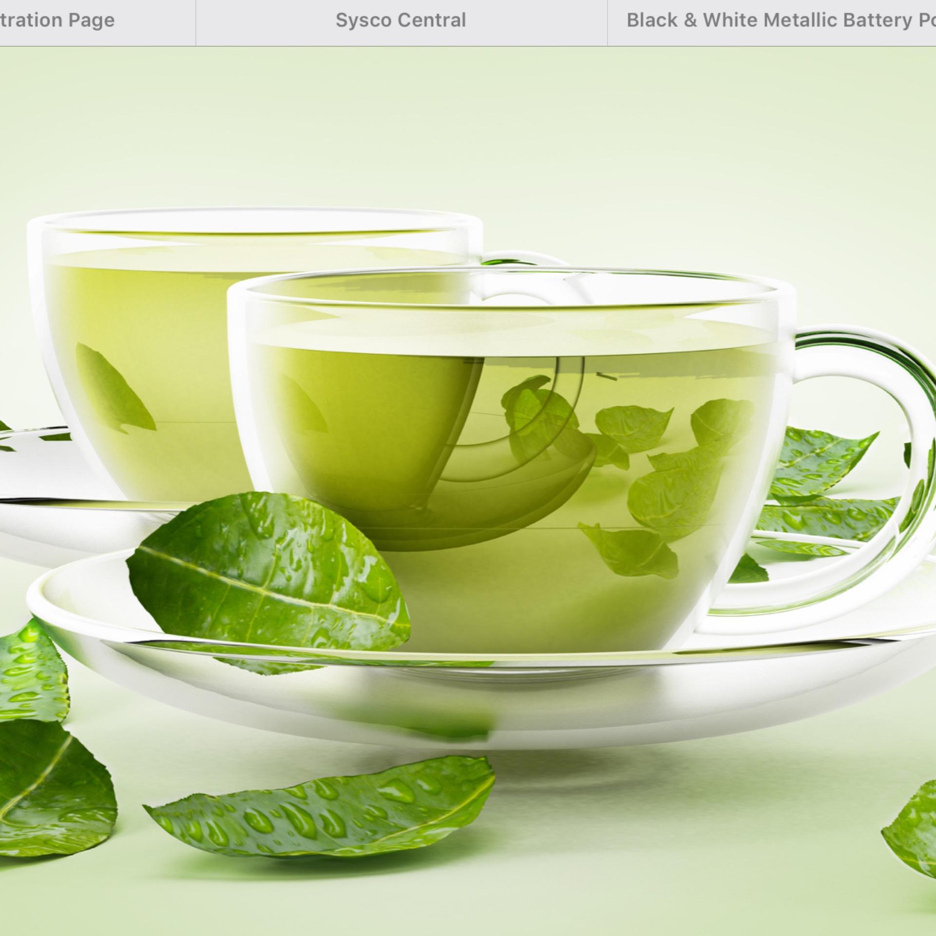 Beverage-Now Tea Green Tropical Light Caffeine