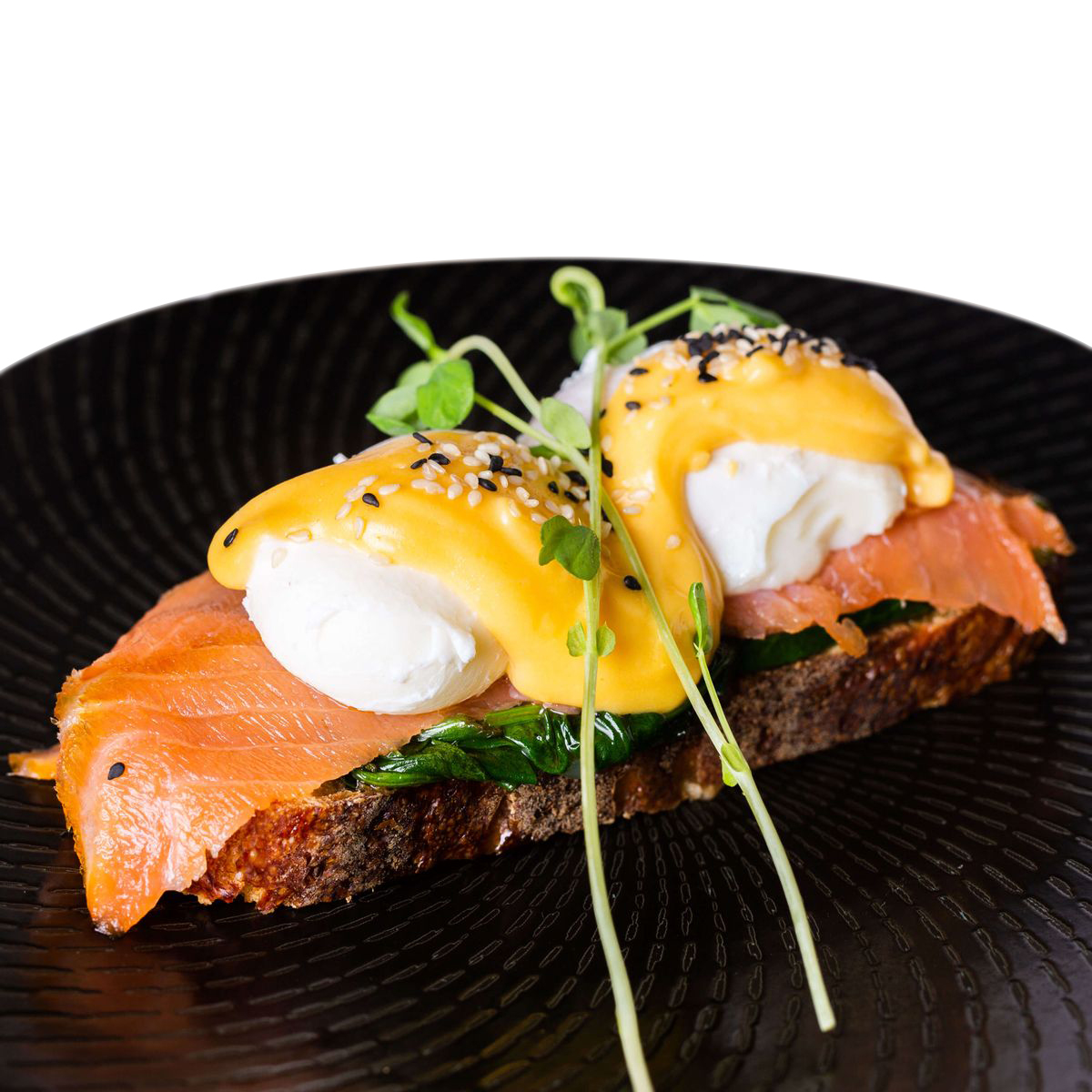 Eggs Benedict - Salmon