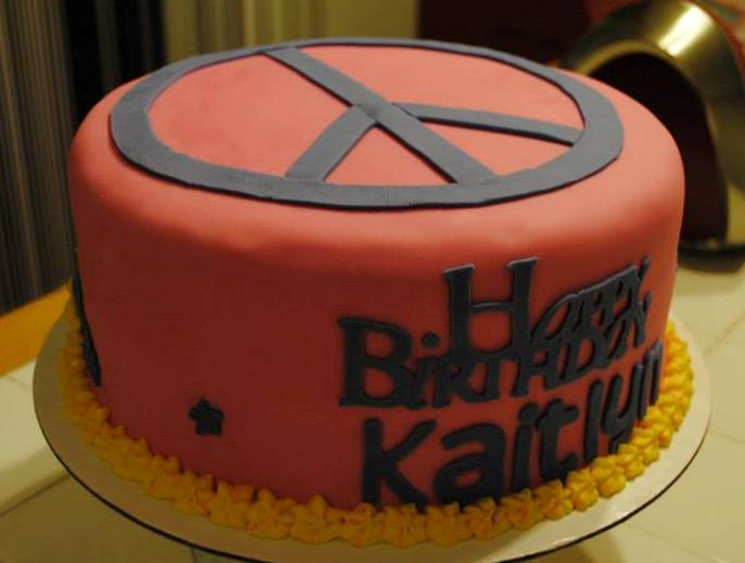 Double Layer Round Cake