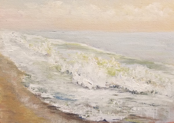 Atlantic Sunday AM Acrylic Painting