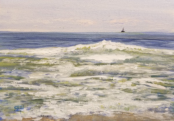 Atlantic Friday AM Acrylic Painting