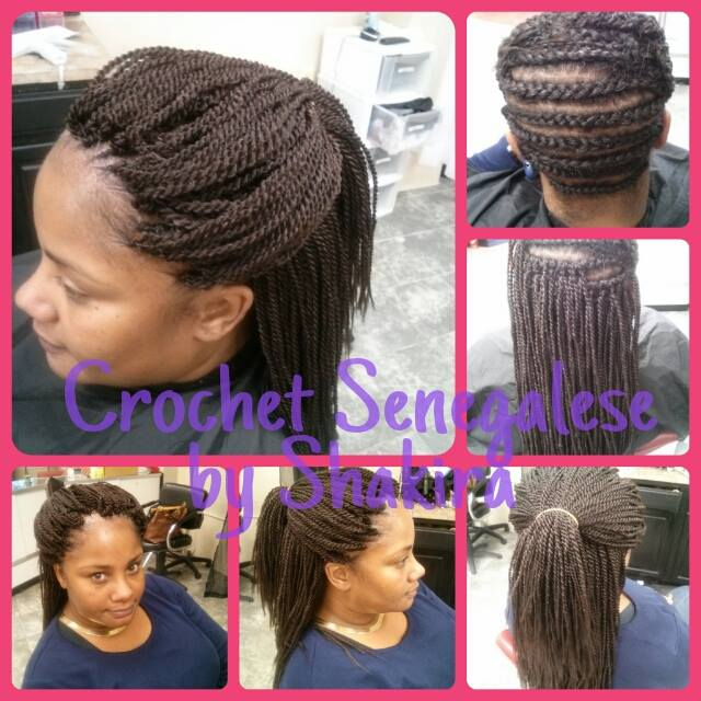 CROCHET SENEGALESE TWIST from Creative Braids And Styles Hair Salon Senegalese Twist Crochet Braids