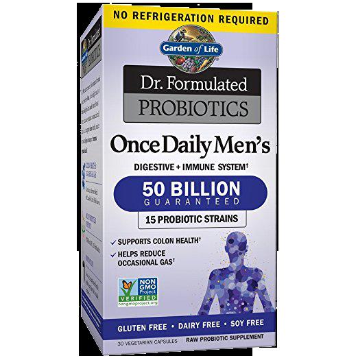Dr. Formulated Probiotics Once Daily Men's 50 Billion