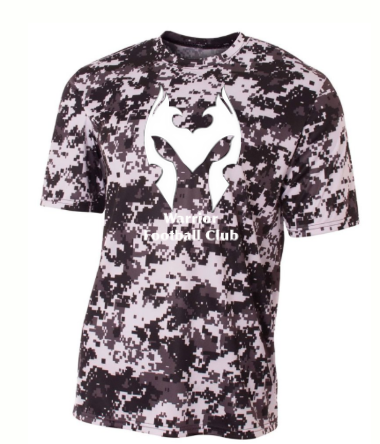 Warrior Kings Football Club Camo Shirt