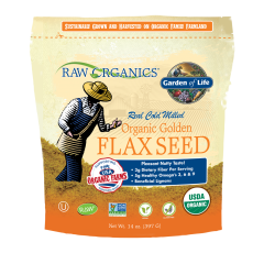 RAW Organics Golden Flaxseed