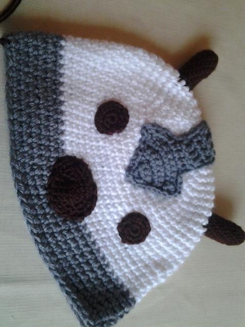 Crocheted Appa Hat