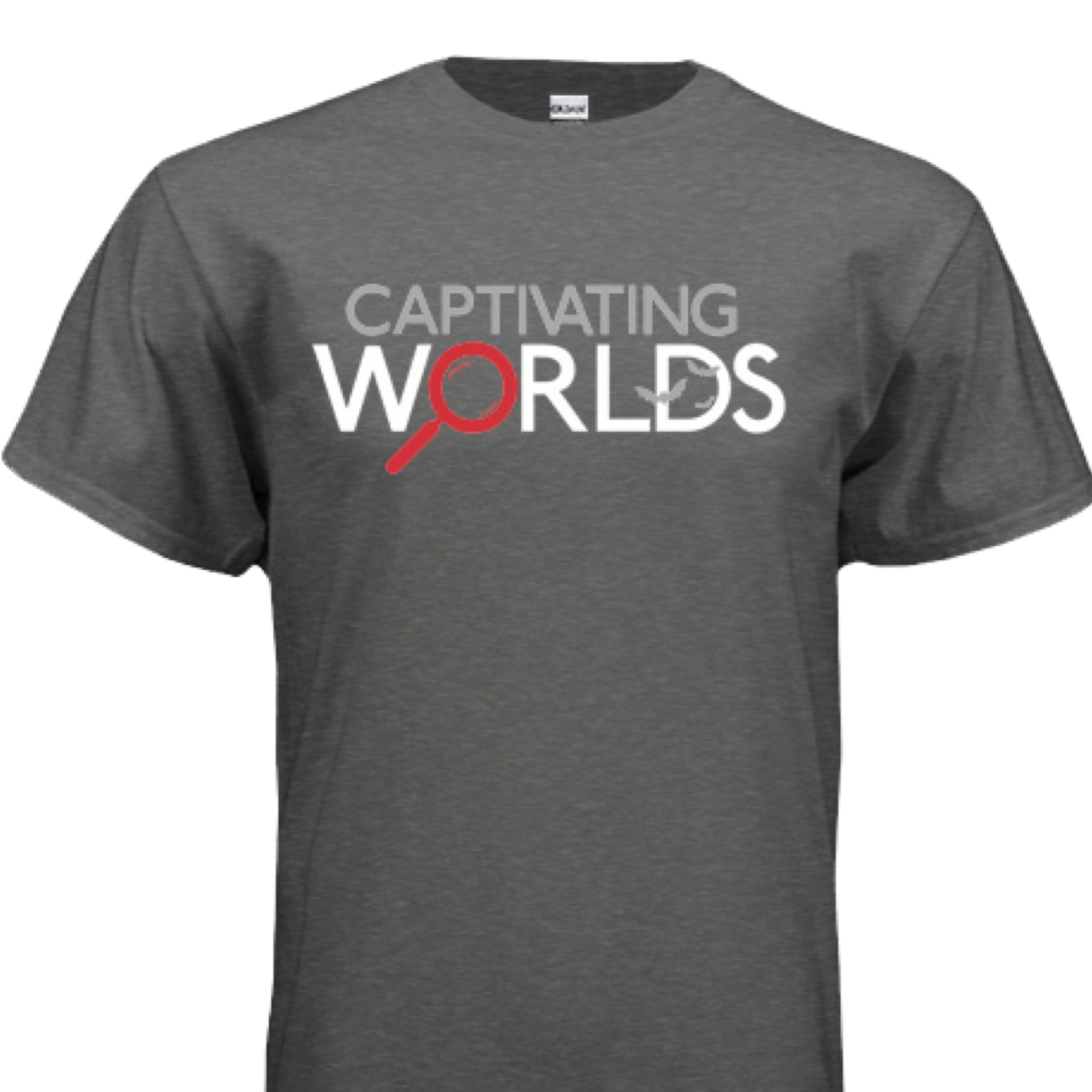 Captivating Worlds Logo T-shirt - Mens/Unisex