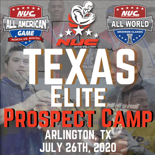 Coach Schuman's Texas Elite Prospect Showdown Camp, July 26th, 2020 Arlington, Texas