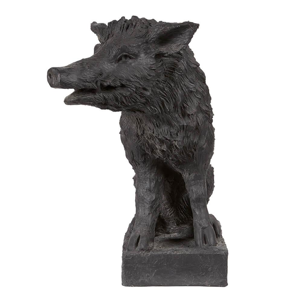 Black Plaster Boar