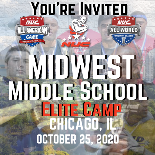 Coach Schuman's Midwest Middle School Elite Prospect Camp, October 25th, 2020 Chicago, IL