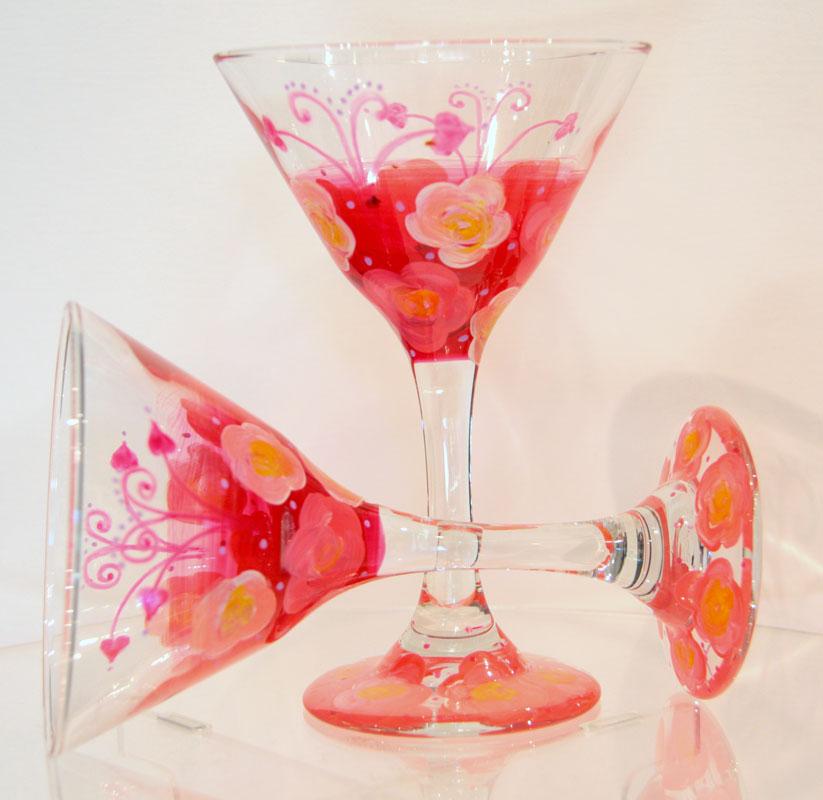S Martini Glasses