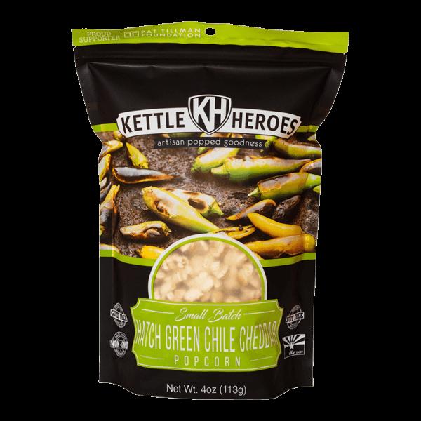 Kettle Heroes Hatch Chile Cheddar Popcorn