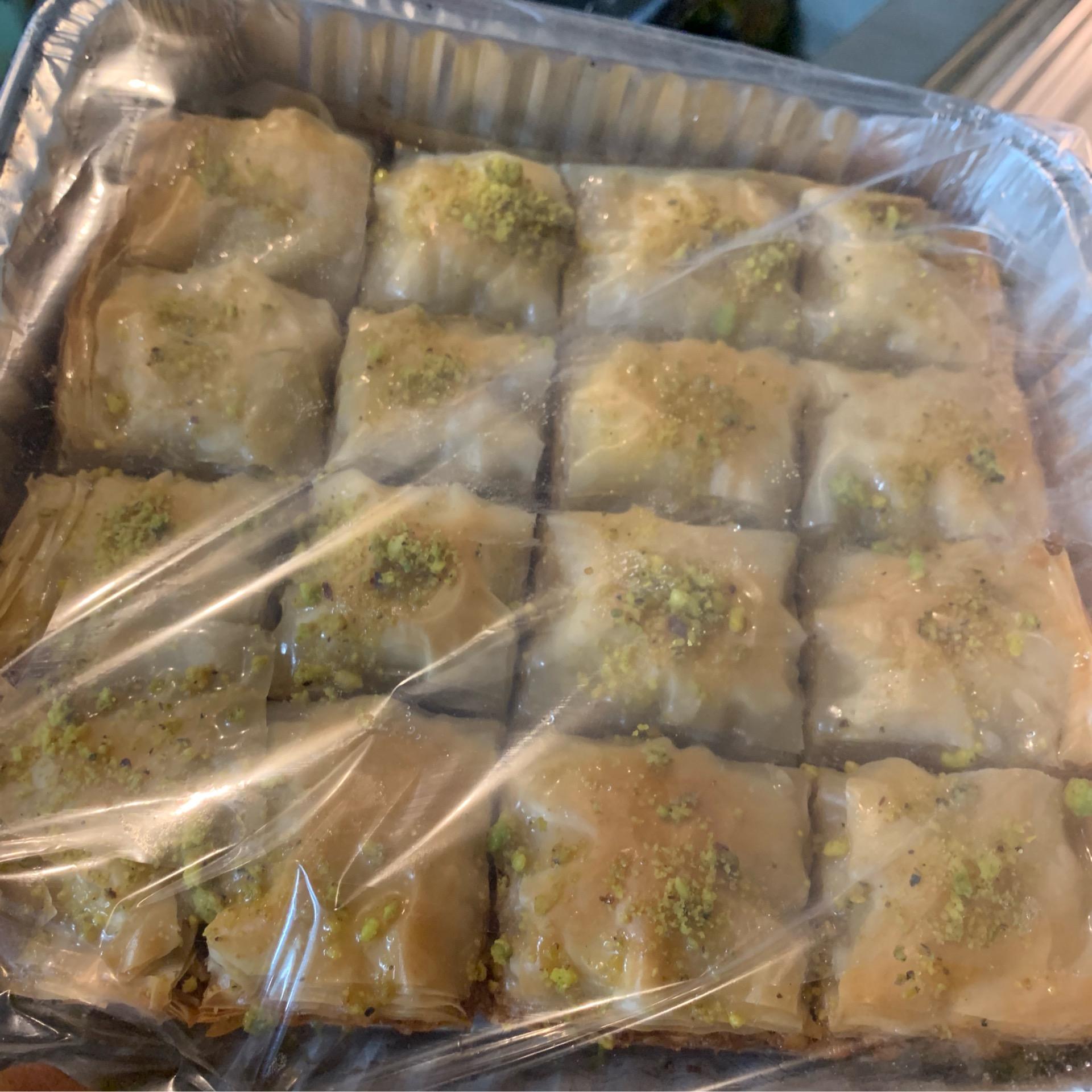 Baklava (Platter) [Vegan Soy-free]